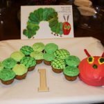 "Little A's ""Very Hungry Caterpillar"" Birthday party"